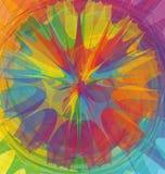 kolor mieszający koło Obraz Stock