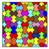 Kolor mozaiki tło Obraz Royalty Free
