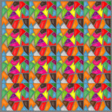 Kolor mozaiki tło Obrazy Royalty Free