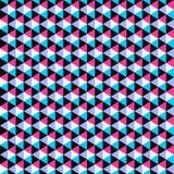 Kolor mozaiki wzór - wektorowy bezszwowy tło royalty ilustracja