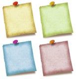 kolor notatki Zdjęcie Royalty Free