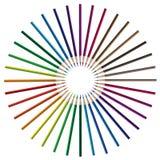 kolor ołówka wektora royalty ilustracja