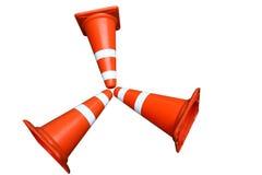 kolor obudów drogi szyszkowej wysiadających ruchu Zdjęcia Royalty Free