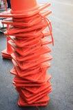 kolor obudów drogi szyszkowej wysiadających ruchu Obrazy Royalty Free