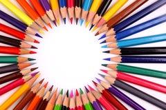 kolor odizolowywający ołówek Zdjęcie Stock