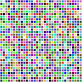 kolor płytki kolorowe wielo- bezszwowe kwadratowe royalty ilustracja