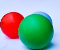 Kolor piłka Fotografia Royalty Free