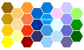 kolor plamiący Obraz Royalty Free