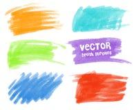 Kolor plamy z markierami ilustracji