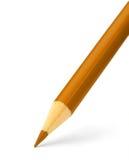 kolor pomarańczowy ołówek Obraz Royalty Free