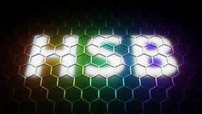 KOLOR przestrzeń HSB odcień, przepojenie, świetlistość (,) Fotografia Royalty Free