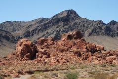 kolor pustynia Fotografia Royalty Free