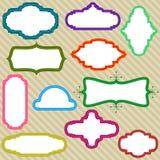 kolor ramy Obrazy Stock
