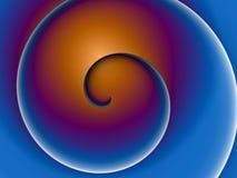kolor spirala Fotografia Royalty Free
