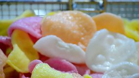 Kolor szczerbi się zbliżenie, fast food różnorodność, zbiory
