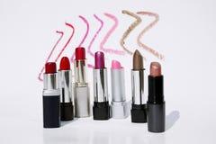 kolor szminki Fotografia Stock