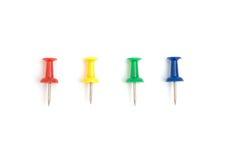 kolor szpilki cztery Zdjęcia Stock