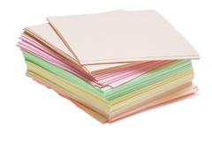 Kolor szpilki na bielu obrazy stock