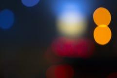 kolor tła abstrakcyjne Zamazani światła Bokeh De skupiający się Ligh Fotografia Royalty Free