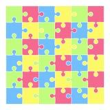 kolor tła grafiki hue zmiany powłoki puzzle przepojenia slider łatwe Obrazy Royalty Free