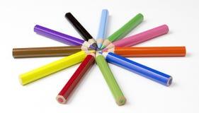 kolor tła ołówki białe Bezpłatni królewskość wizerunki Zdjęcia Royalty Free