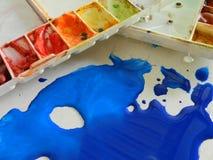 kolor tła abstrakcyjna projektu paleta Fotografia Royalty Free