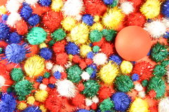 kolor tła jaskrawe kolory jaj Obraz Royalty Free