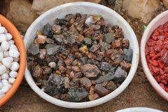 kolor tła kamienie Zdjęcie Royalty Free