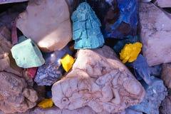 kolor tła kamienie Fotografia Royalty Free