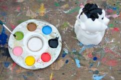 Kolor taca Zdjęcie Stock