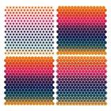 Kolor tekstura od geometrical postaci ilustracji