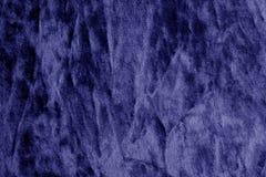 Kolor tekstylna tekstura w błękitnym kolorze Fotografia Stock