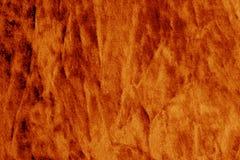 Kolor tekstylna tekstura w pomarańczowym kolorze Zdjęcie Stock