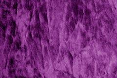 Kolor tekstylna tekstura w purpura kolorze Zdjęcie Stock