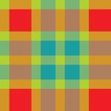 Kolor tkaniny szkocka krata. Bezszwowa wektorowa ilustracja. ilustracja wektor