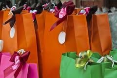 Kolor torba Zdjęcie Stock