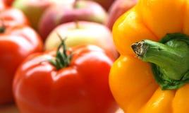 kolor warzywa owocowe zdjęcia stock