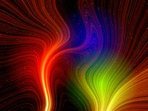 kolor światła fantazji Fotografia Stock
