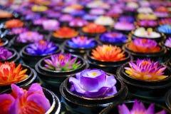Kolor świeczka Obraz Royalty Free