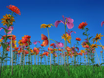 kolor wiosna ilustracji