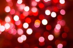 Kolor zaświeca bokeh zdjęcie royalty free