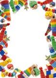 Kolor zabawek granica Obraz Stock