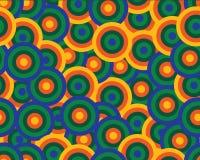 Kolor zaokrągla bezszwowego wzór Obraz Royalty Free