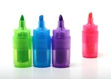 kolor znaczników Obrazy Stock