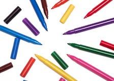 kolor znaczników Zdjęcie Royalty Free