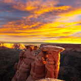 Kolorado-Denkmal Lizenzfreie Stockbilder