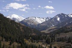 Kolorado-felsige Berge Lizenzfreies Stockfoto