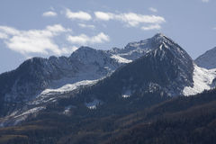 Kolorado-felsige Berge Stockbilder