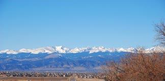 Kolorado-felsige Berge Stockfoto