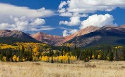 Kolorado-felsige Berge im Fall Lizenzfreies Stockfoto